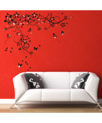 Vine Swarovski wall stickers
