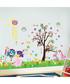 Multi-coloured tree wall stickers Sale - Walplus Sale