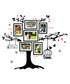 Multi-colour photo frame wall stickers  Sale - Walplus Sale