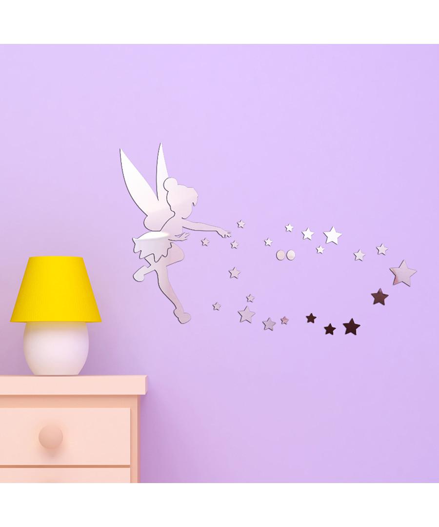 Tinkerbell Star mirror wall stickers Sale - Walplus