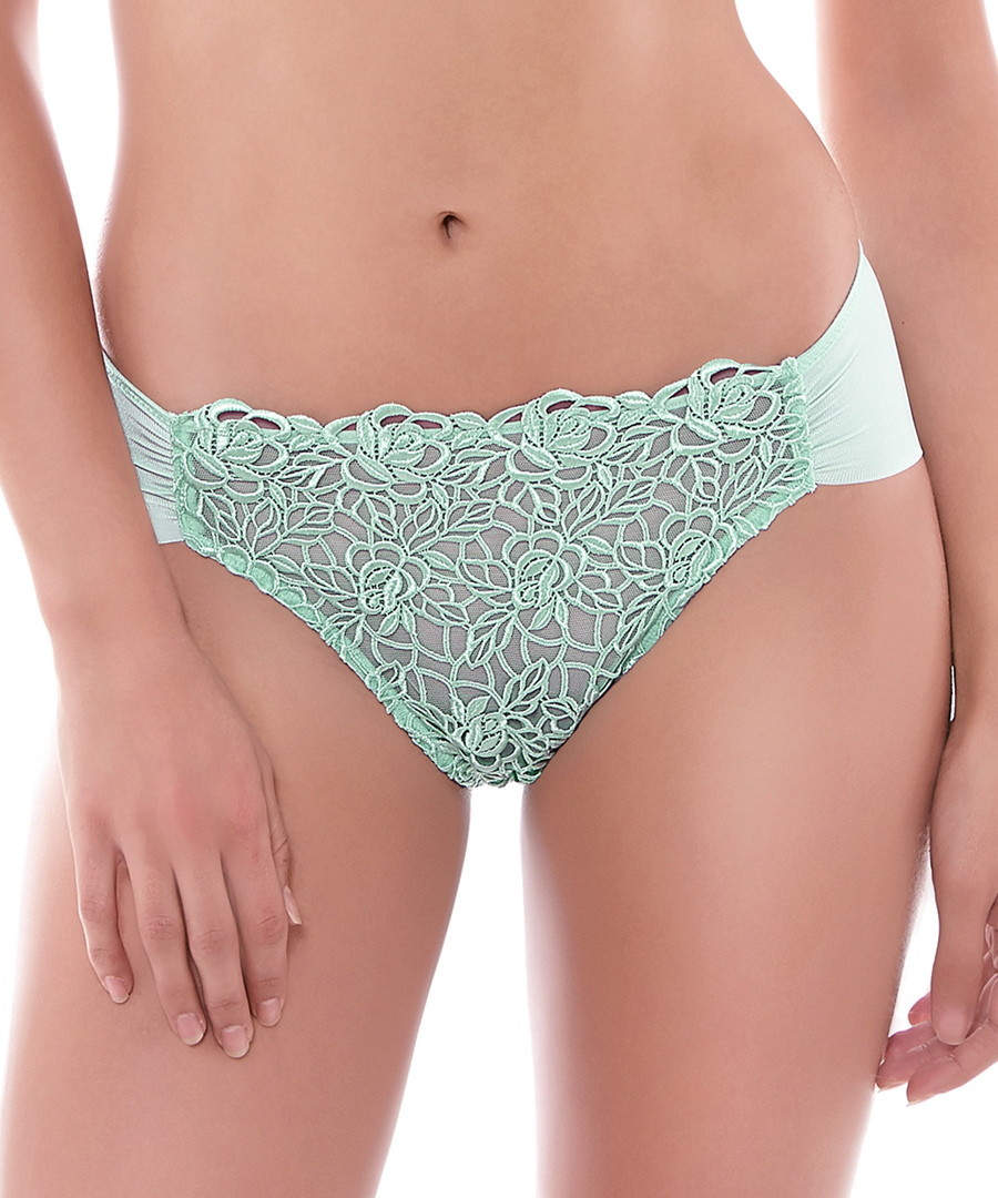 Flore mint green briefs Sale - Wacoal