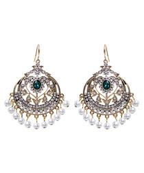 Gayatri gold-tone chandelier earrings