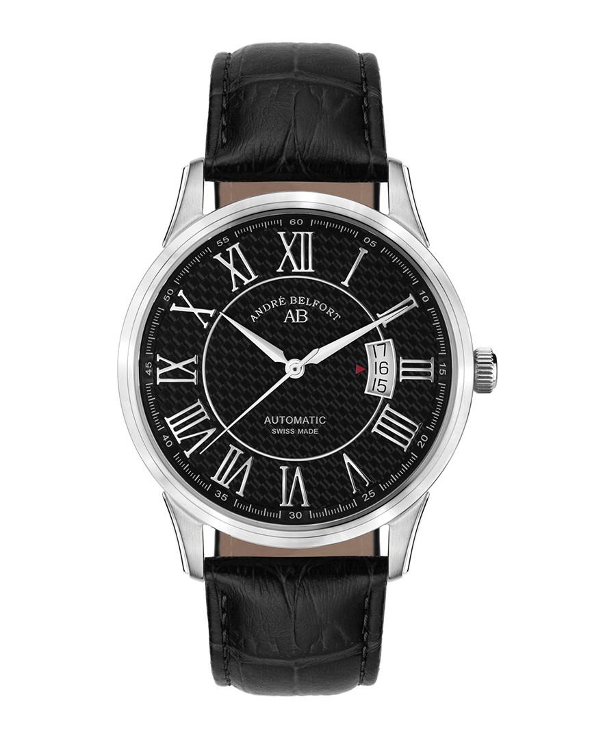 Le Maître black & silver-tone watch Sale - andre belfort