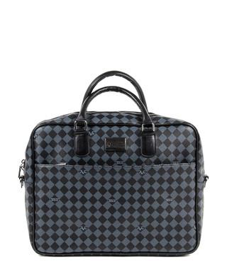 1b2ec800d75e Grey   black checked messenger bag Sale - VERSACE 1969 ABBIGLIAMENTO  SPORTIVO Sale