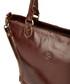 Oxblood & gold-tone leather shopper Sale - lloyd baker Sale