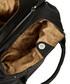 Black leather zip-detail shoulder bag  Sale - lloyd baker Sale