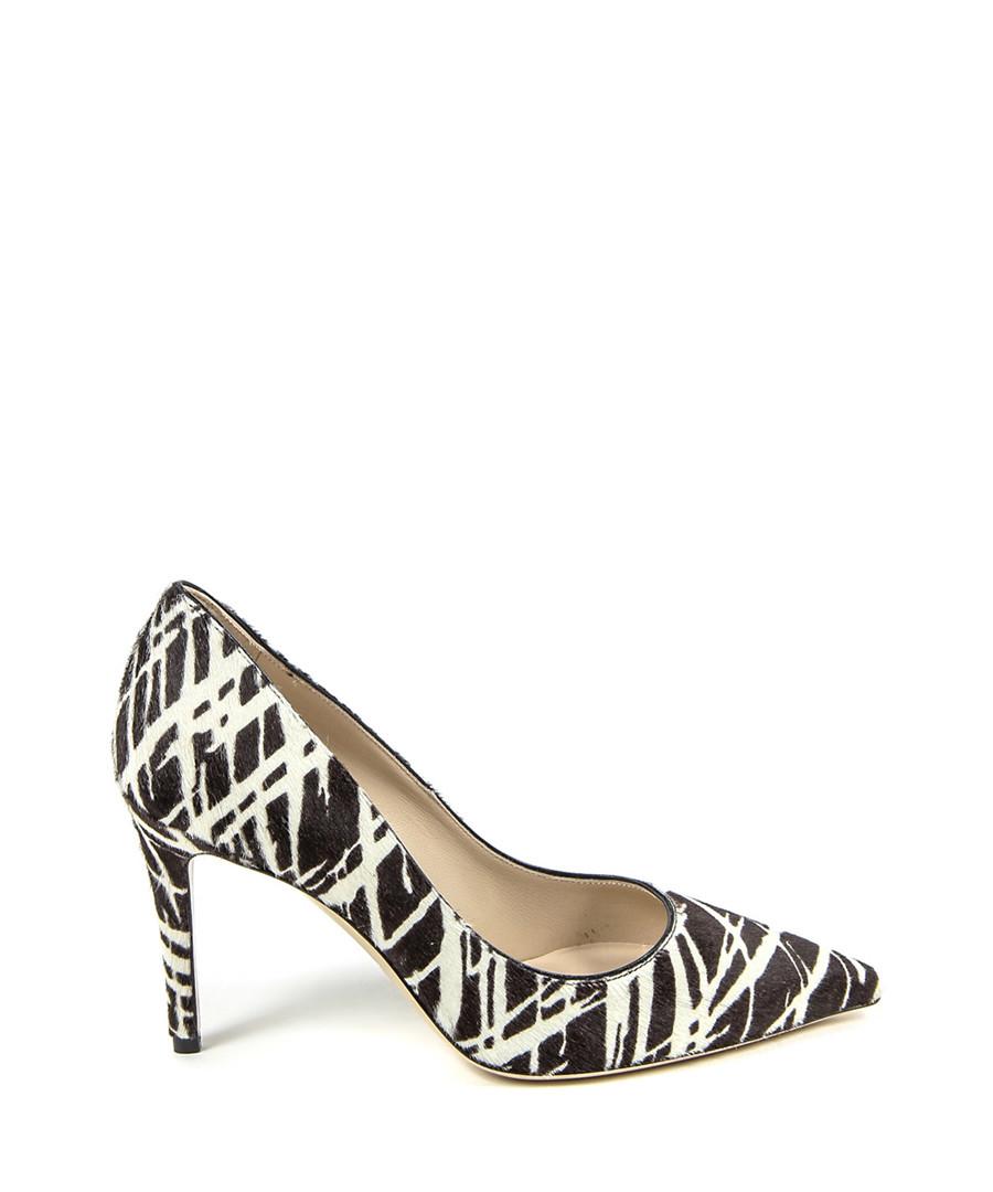 f381dbc4b289 Brown   cream pony hair court heels Sale - v italia by versace 1969  abbigliamento sportivo ...