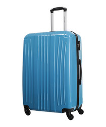 Grimsby blue spinner suitcase 60cm