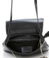 Black leather messenger bag Sale - mia tomazzi Sale