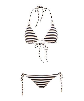 89529a1394339 2pc Key West sailor triangle bikini Sale - Melissa Odabash Sale