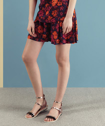 Foxlow floral print shorts
