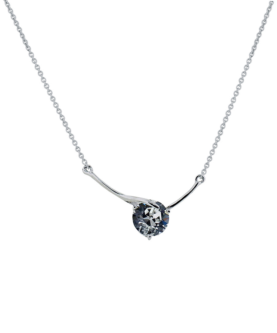 Dreamcatcher white gold-plated necklace Sale - diamond style