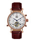 Nouvelle Renaissance brown leather watch Sale - andre belfort Sale