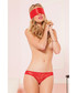 2pc Entangled red briefs & blindfold Sale - seven til midnight Sale