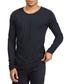 Basic Long black pure cotton top Sale - true prodigy Sale