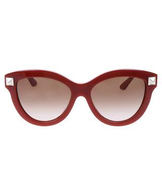 d2ae746c7a4e2 Red & light brown cat eye sunglasses Sale - Valentino Sale