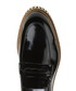 Black patent leather zig zag loafers Sale - Baqietto Sale
