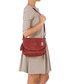 Red leather snake-effect crossbody Sale - anna morellini Sale