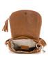 Brown leather snake-effect crossbody Sale - anna morellini Sale