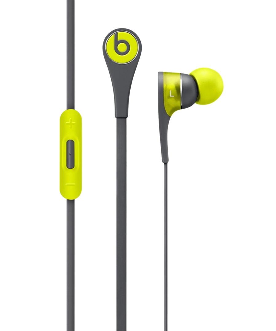 Tour2 grey & yellow earphones Sale - beats