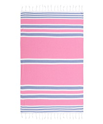 Samsara pink pure cotton beach towel