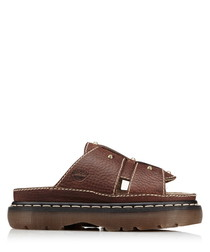 Women's Trevin brown leather sandals