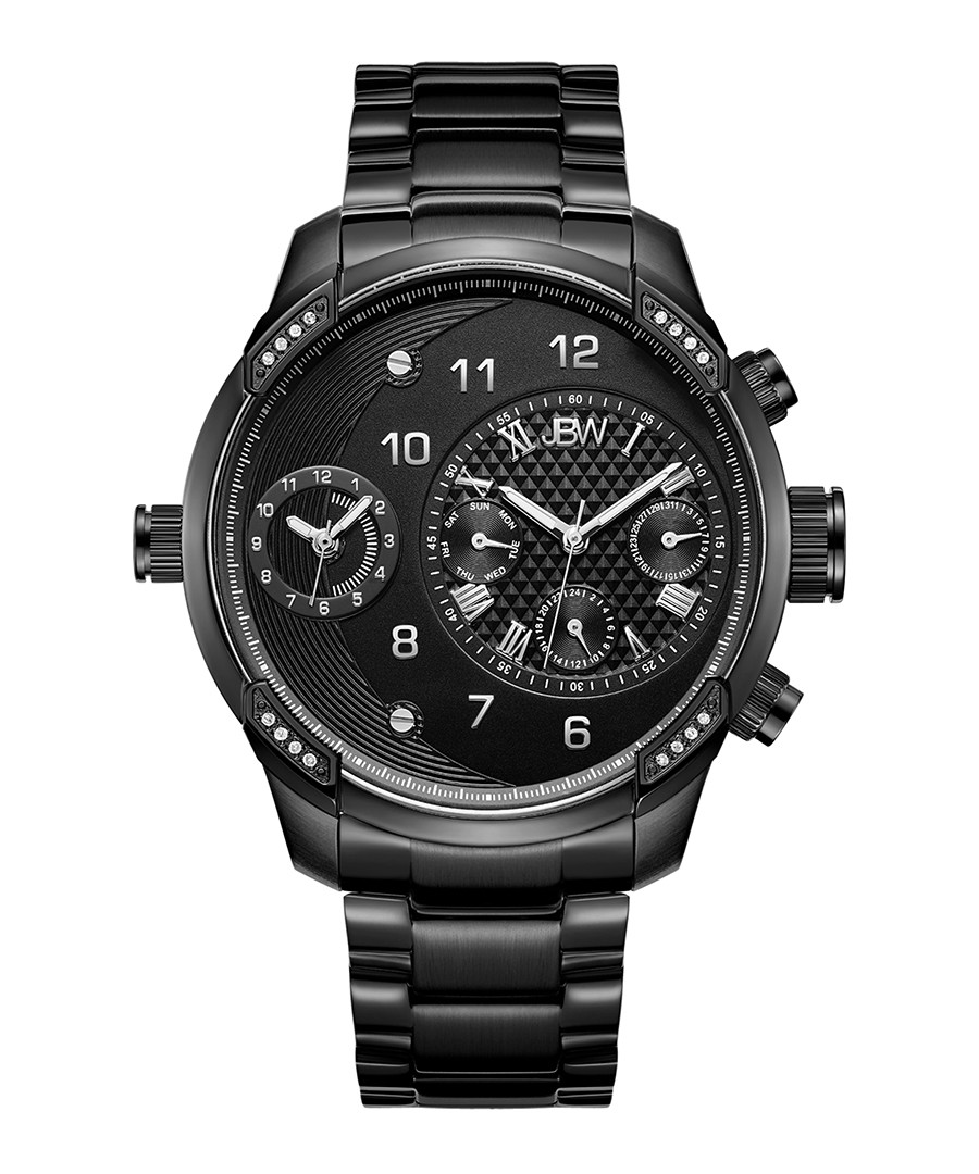 G3 black stainless steel watch Sale - jbw