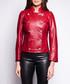 Suzan rouge leather military jacket Sale - giorgio & mario Sale