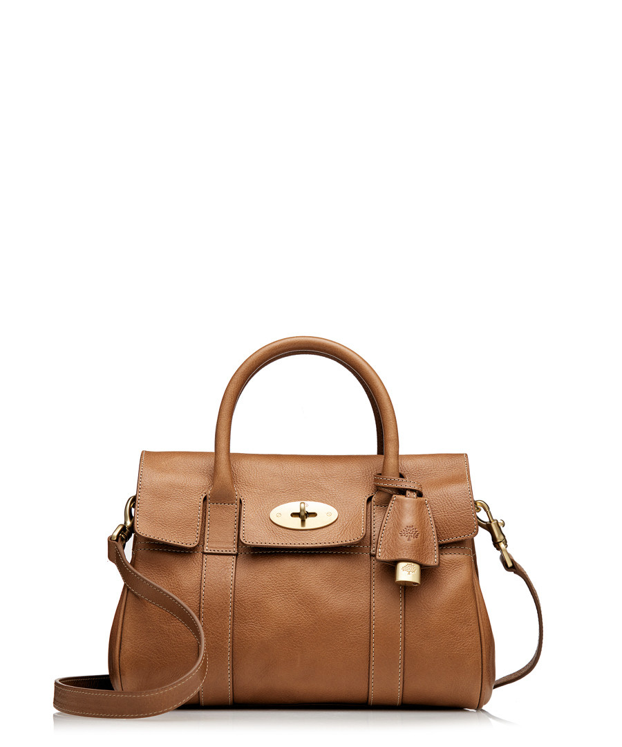 795640e6d2fe Small Bayswater oak leather grab bag Sale - Mulberry ...