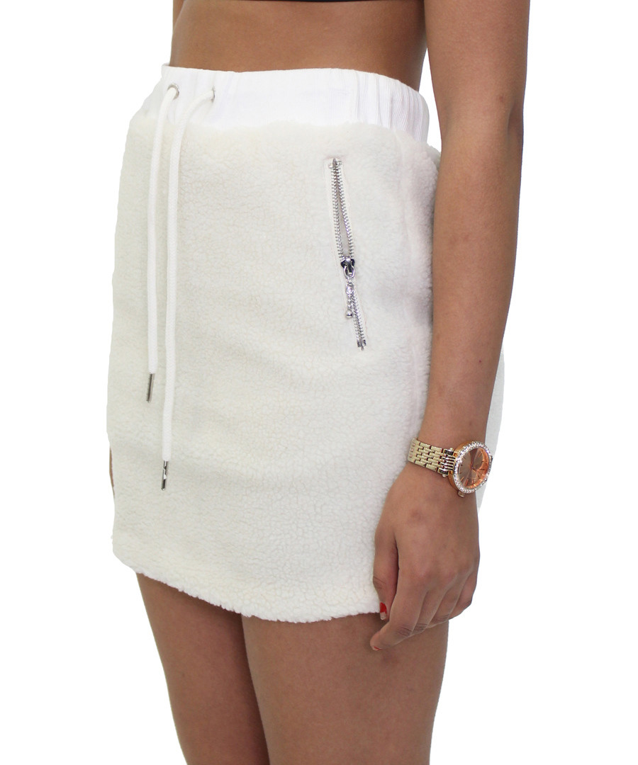 Bear cream drawstring skirt Sale - criminal damage