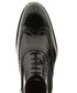 Black leather shiny stacked brogues Sale - Baqietto Sale