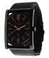 Black stainless steel mesh strap watch Sale - Tateossian London Sale