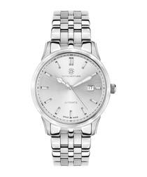 Elégance de Suisse silver-tone watch