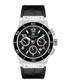 Noblesse black moc-croc leather watch Sale - mathis montabon Sale