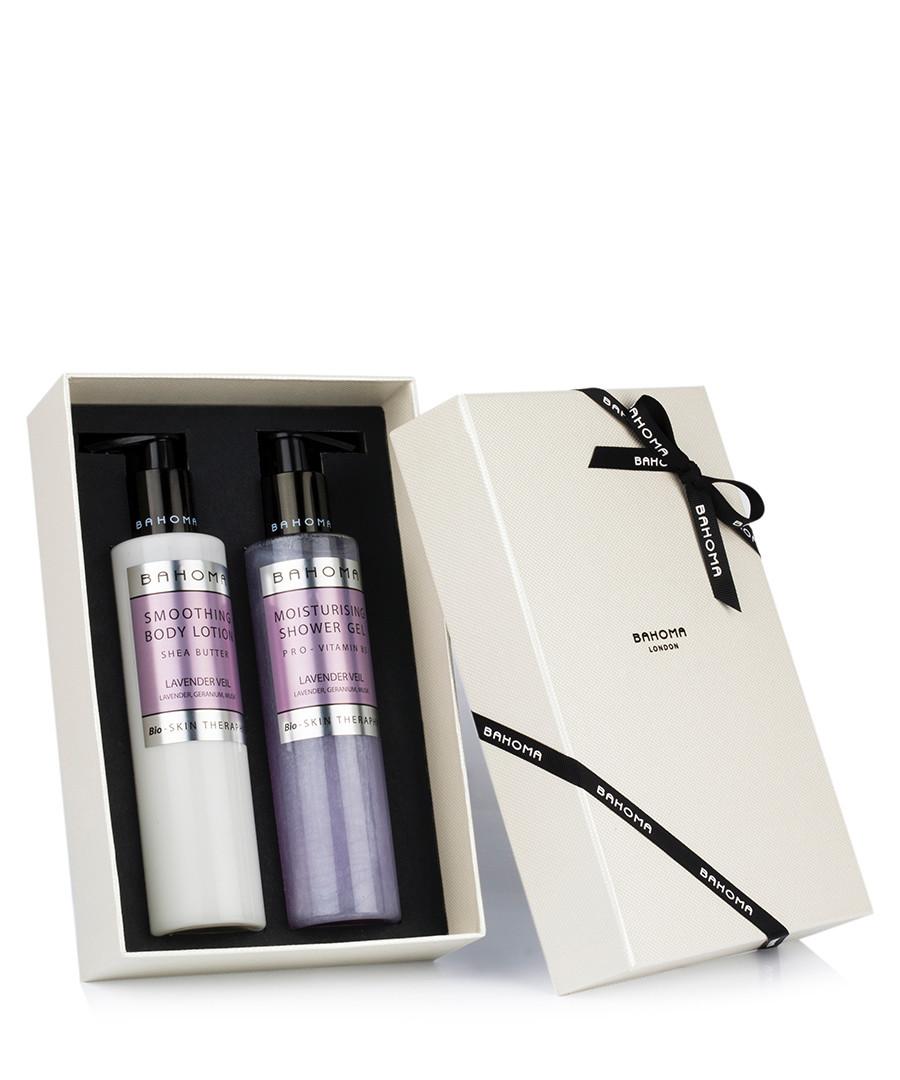 2pc Lavender shower gel & body cream set Sale - bahoma