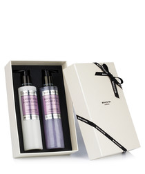 2pc Lavender shower gel & body cream set