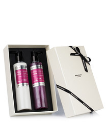 2pc Passion shower gel & body cream set