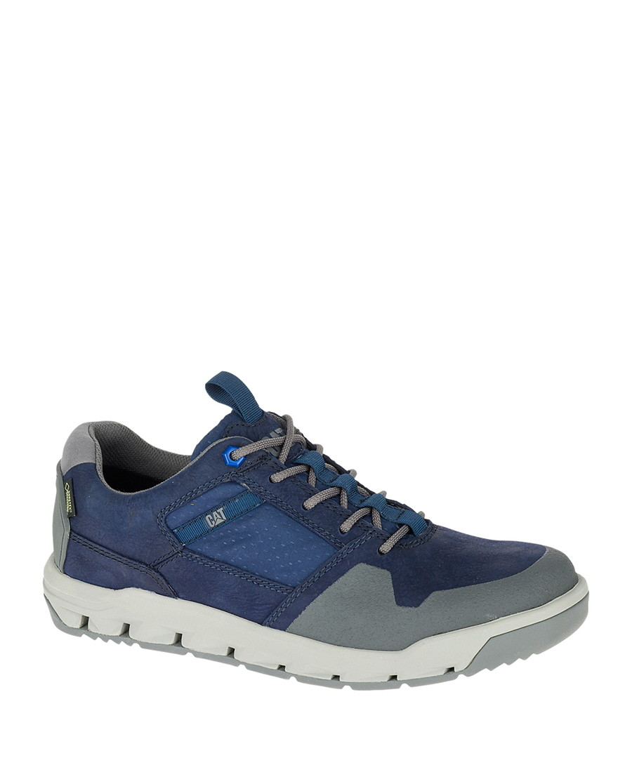 Men's Filter Gore blue leather sneakers Sale - cat