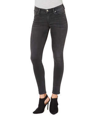 aeff530eee488f Halle onyx black cotton blend jeans Sale - True Religion Sale