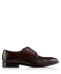 Cambronne brown leather brogues