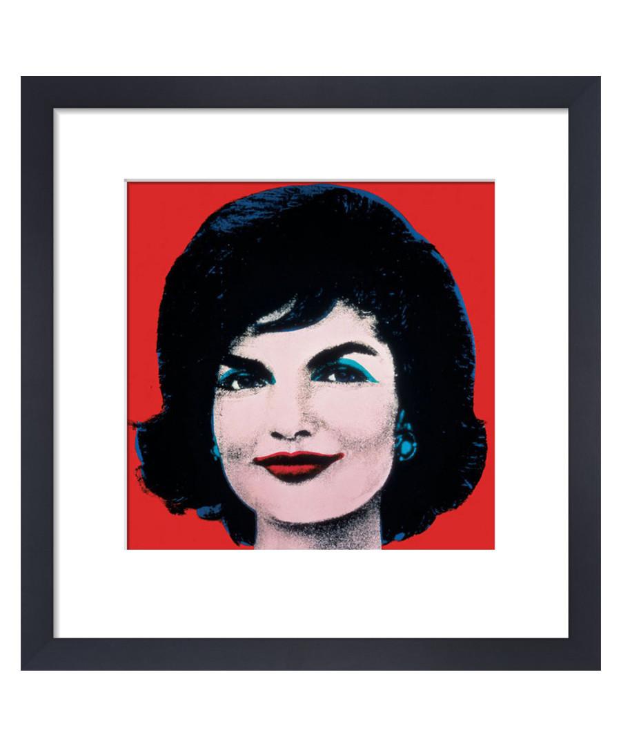 Jackie, 1964 framed print 36 x 28 cm Sale - andy warhol