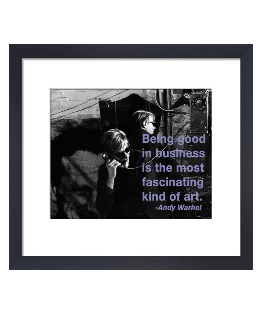 Business framed print  Sale - Andy Warhol