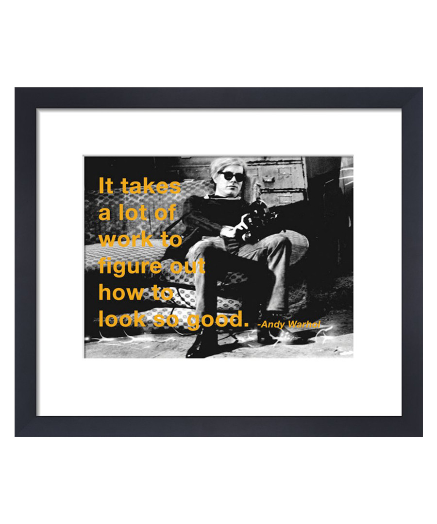 Look So Good framed print Sale - Andy Warhol