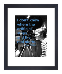 Artificial framed print 36 x 28 cm