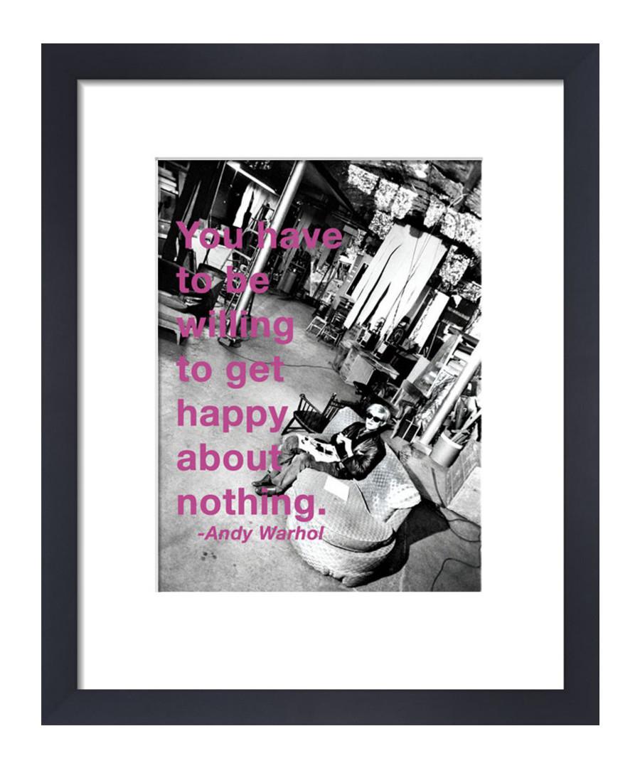 Get Happy framed print  Sale - Andy Warhol