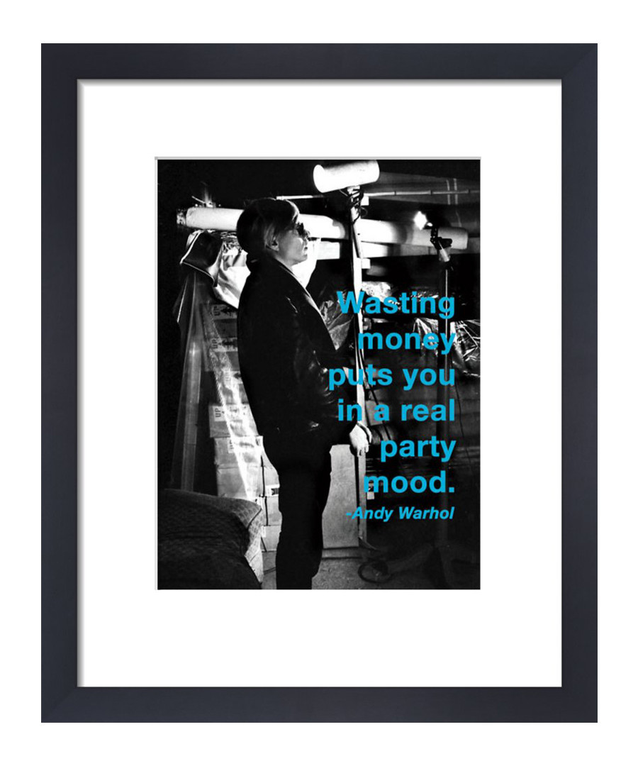 Wasting Money framed print  Sale - Andy Warhol