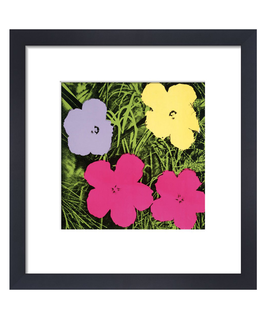 Flowers framed print  Sale - Andy Warhol