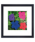 Blue flowers framed print Sale - Andy Warhol Sale