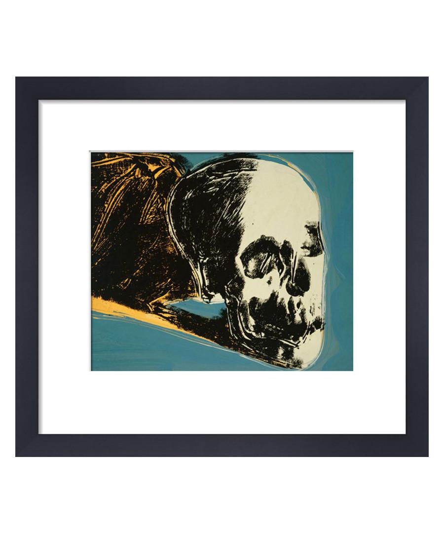 Skull framed print 28 x 36 cm Sale - andy warhol