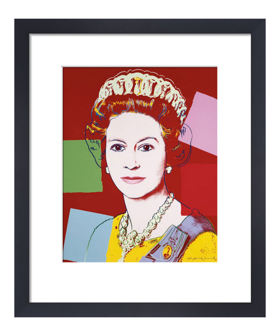 Reigning Queen framed print Sale - Andy Warhol